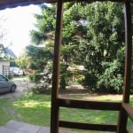 Widok z domku w kierunku Willi Denega
