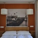 "Apartament ""Szum Morza"" – sypialnia"